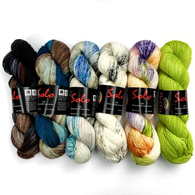 Yarn Kit – What The Fade – By Andrea Mowry – Bold & Bright Style