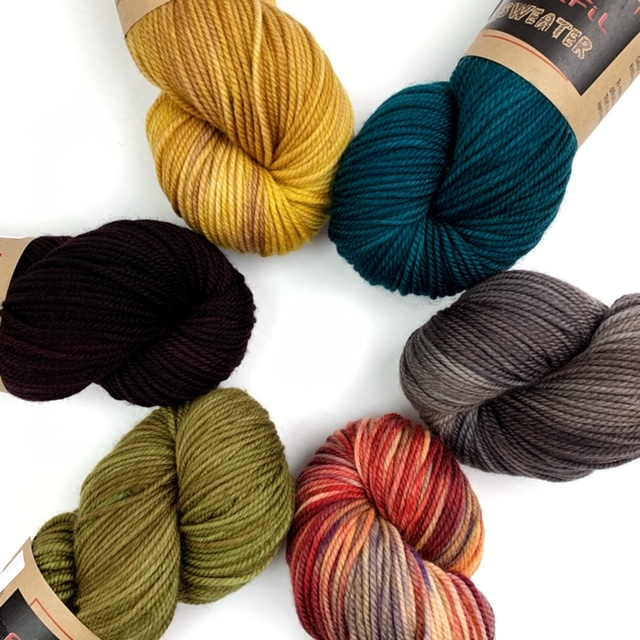 Yarn Kit – Nightshift – By Andrea Mowry – Melting Moments