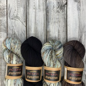 Yarn KIT 4 Skeins – UNTANGLED – Grey Owl